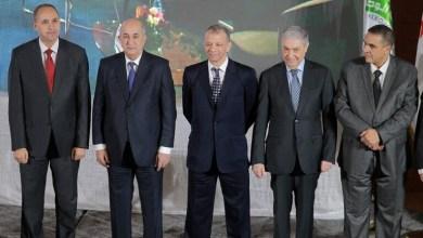 المرشحين الخمسة للرئاسة في الجزائر