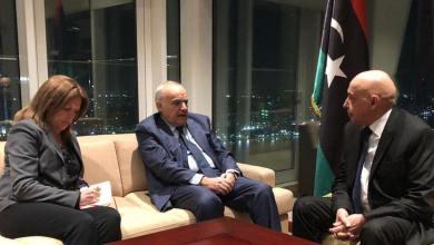 لقاء رئيس البرلمان عقيلة صالح مع المبعوث الأممي غسان سلامة ونائبته ستيفاني ويليامز في القاهرة