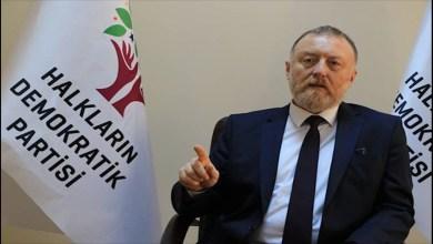 سزائى تمالى- الرئيس المشارك لحزب الشعوب الديمقراطي الكردى في تركيا