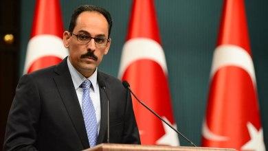 المتحدث باسم الرئاسة التركية إبراهيم غالن