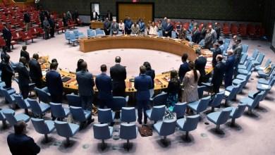 """من جلسات مجلس الأمن بشأن ليبيا-""""أرشيفية"""""""