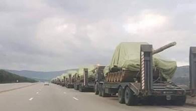 التحرك الجزائري قرب الحدود الليبية
