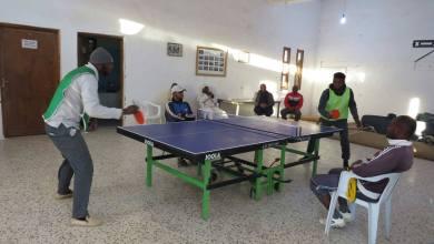 انطلاق بطولة تنس الطاولة في مرزق