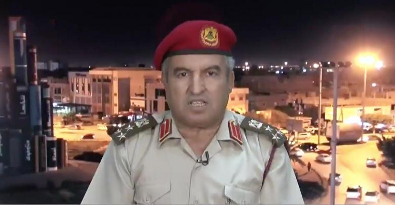 مدير إدارة التوجيه المعنوي بالجيش الوطني العميد خالد المحجوب