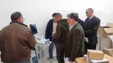إدارة مستشفى أبوهادي تستلم من بلدي سرت شحنة معدات طبية وأجهزة متطورة