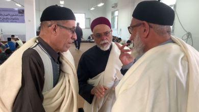 """بني وليد """" اجتماعي ورفلة"""" في استقبال الوفود المشاركة في الملتقى التشاوري للمدن والقبائل الليبية"""