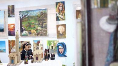 درنة..معرض الفن التشكيلي والتراثي والمشغولات اليدوية