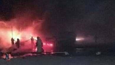 صورة أولية من مكان تحطم الطائرة الحربية الجزائرية