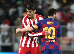 Spanish Super Cup - Semi Final - FC Barcelona v Atletico Madrid