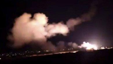 صور متداولة لما قيل إنها صواريخ إيرانية استهدفت قواعد أميركية