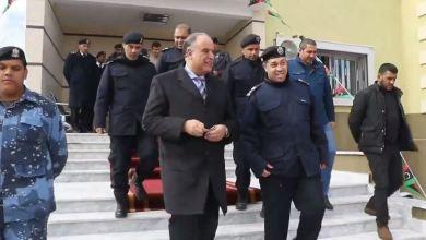 وزارة الداخلية بالحكومة المؤقتة تعيد افتتاح مركز شرطة الفايدية التابع لمديرية أمن شحات