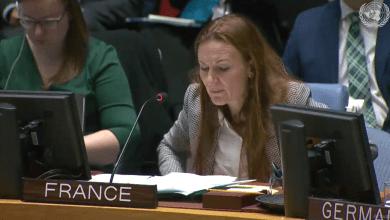 نائبة الممثل الدائم لفرنسا في مجلس الأمن الدولي، آن غيغوين
