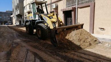 طرابلس .. بلدي أبوسليم يستأنف رصف وتعبيد شوارع محلة بلوزة