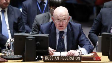 المندوب الروسي في مجلس الأمن فاسيلي نبينزيا- إرشيفية