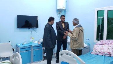 سعيد يتفقد مستشفى سمنو القروي ببلدية وادي البوانيس