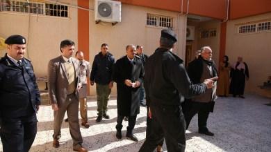 الثني يتفقد مؤسسة الإصلاح والتأهيل الكويفية في بنغازي