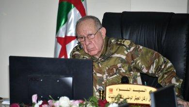 رئيس أركان الجيش الوطني الشعبي الجزائري بالنيابة اللواء السعيد شنقريحة
