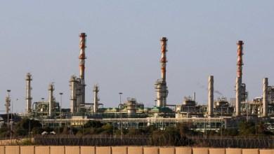 """عودة تغذية محطتي بنغازي والزويتينة للكهرباء بعد إصلاح عطل بحقل التحدي النفطي-""""صورة أرشيفية"""""""