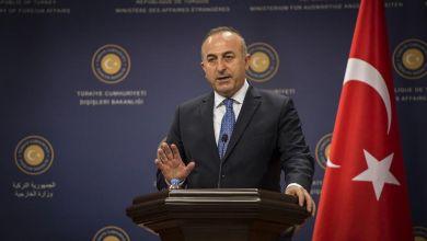 وزير الخارجية التركي مولود جاويش أوغلو- إرشيفية