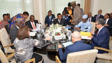 اجتماع مجموعة الاتصال التابعة للاتحاد الأفريقي