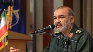 القائد العام للحرس الثوري الإيراني حسين سلامي