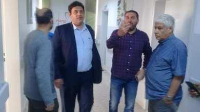 إدارة التفتيش بالحكومة الليبية تتفقد خدمات مركز الكلى بنغازي