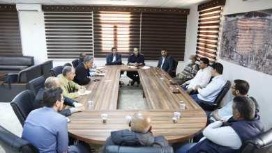 لجنة مكافحة فيروس كورونا في مدينة سرت
