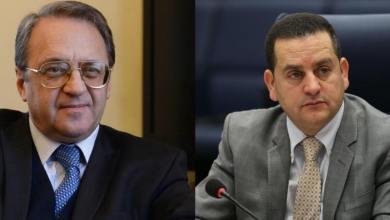 الحويج يبحث مع بوقدانوف تطورات الأوضاع في ليبيا