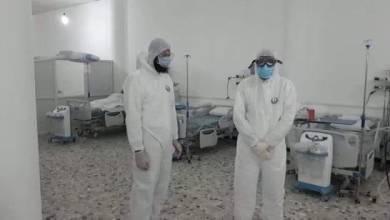 فزعة الأطقم الطبية من شباب سبها لمكافحة انتشار كورونا في المدينة