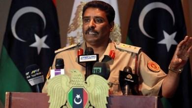 """اللواء أحمد المسماري - الناطق الرسمي باسم القائد العام للجيش الوطني- """"أرشيفية"""""""
