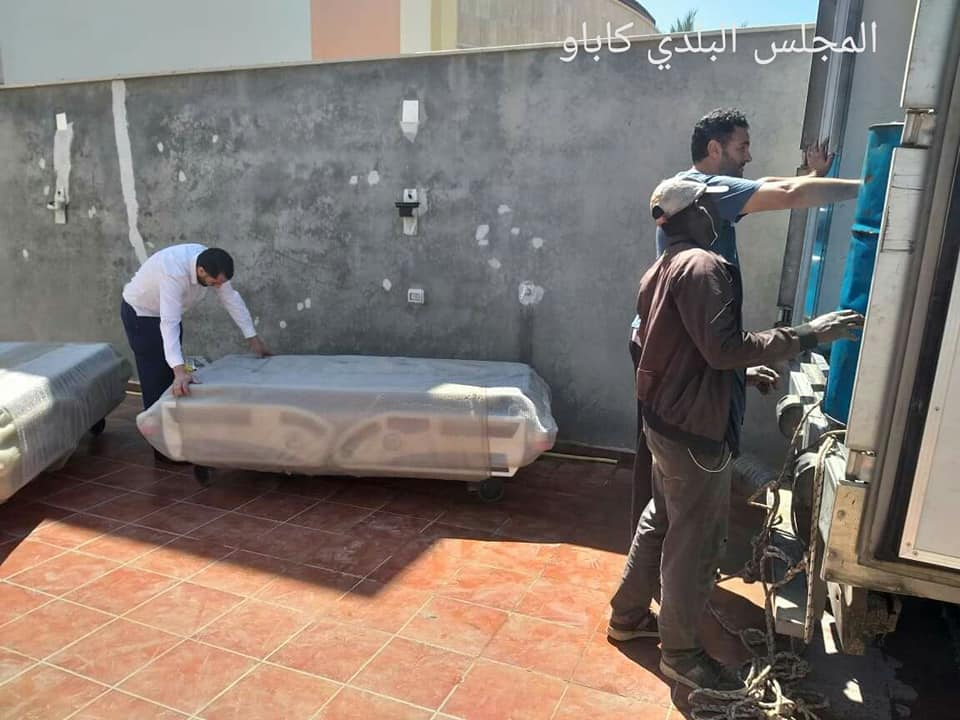 وصول مستلزمات طبية لمستشفى كاباو مقدمة من وزارة الصحة بحكومة الوفاق