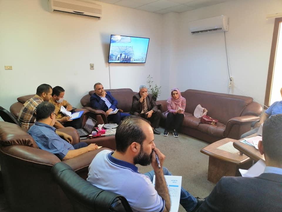 اجتماع لجنة ترشيد المرتبات بوزارة المالية