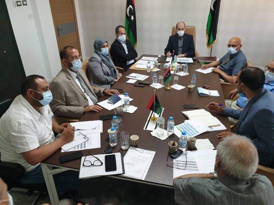 اجتماع موسع لوزارة التعليم بحكومة الوفاق لوضع الخطة الاستثنائية لاستئناف العام الدراسي 2020