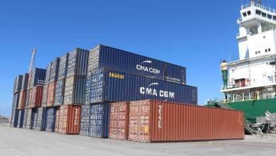 وصول 565 حاوية بضائع متنوعة لميناء بنغازي