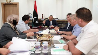 """""""الثني"""" يجتمع مع وزير الصحة في بنغازي لمتابعة ترتيبات إعادة افتتاح 3 مراكز طبية حيوية"""