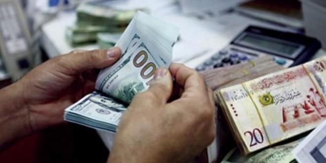 تداولات الدينار الليبي مقابل الدولار والعملات الأجنبية في السوق السوداء
