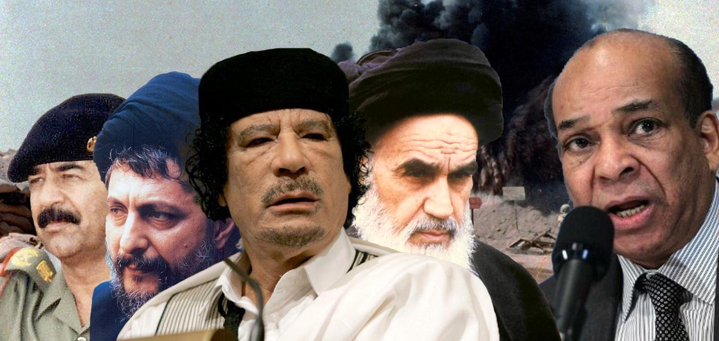 عبدالرحمن شلقم - الخميني - القذافي - موسى الصدر - صدام حسين