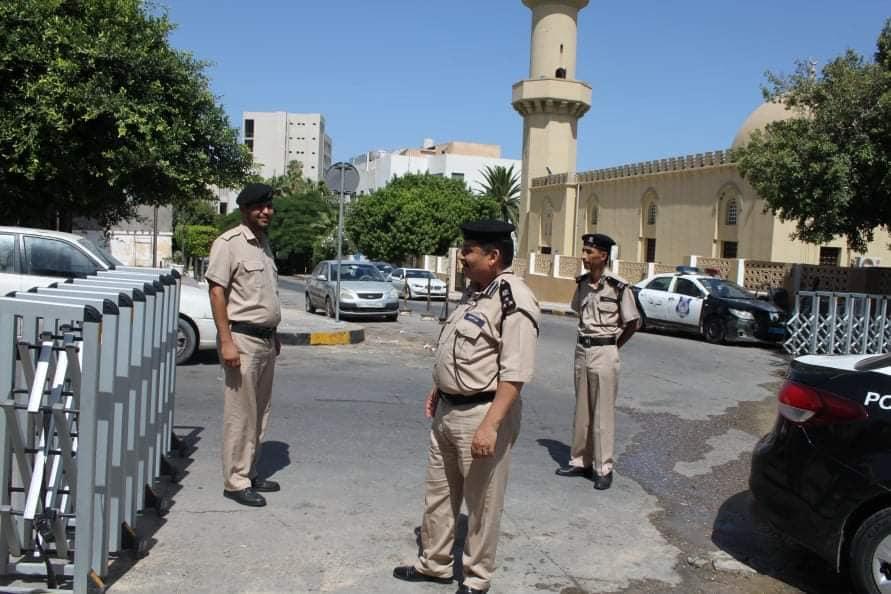 مديرية أمن طرابلس تتابع مدى تطبيق قرار الحظر الكلي