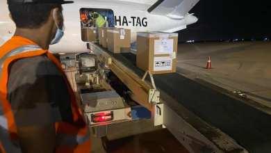 """مطار مصراتة .. وصول شحنة من مشغلات استخلاص الحمض النووي"""" لفيروس كورونا"""