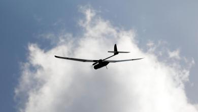"""طائرة مسيرة تابعة للجيش الإسرائيلي-""""صورة أرشيفية من رويترز"""""""