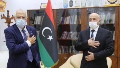 عقيلة صالح يطالب بدعم الاتحاد الأوروبي لتثبيت وقف إطلاق النار