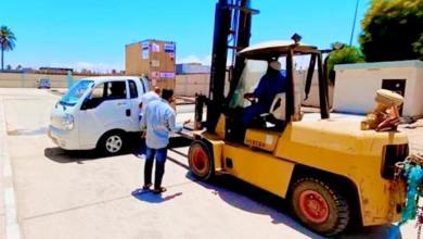 مستشفى سوق الخميس يستلم إمدادات طبيّة من صحة الوفاق