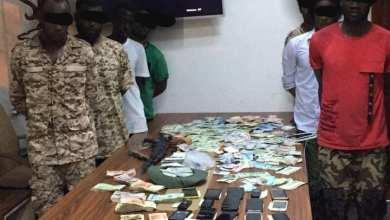 """عصابة أجنبية وقعت في قبضة أمن القره بوللي - الصورة حسب """"داخلية الوفاق"""""""