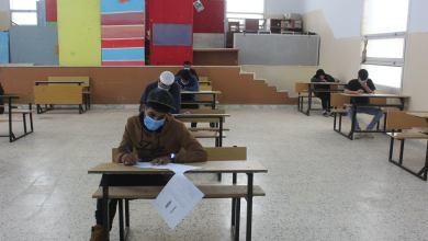 700 طالبة وطالب يدخلون امتحانات الشهادة الثانوية في بلدية شحات وسط إجراءات مشددة للوقاية من فيروس كورونا