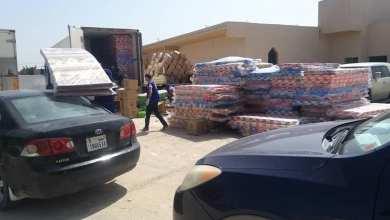 لجنة الأزمة ببلدية الماية توزع مواد غير غدائية على 150 أسرة نازحة