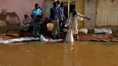 رويترز: مياه الفيضانات في السودان تصل إلى مستويات قياسية في الخرطوم