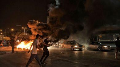 احتجاجات بنغازي على غياب الخدمات