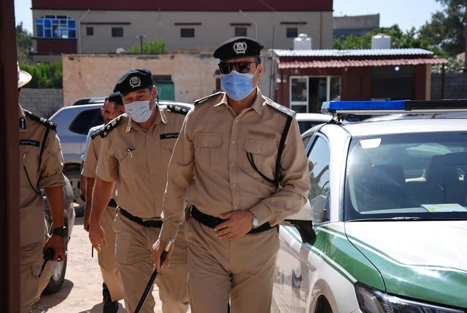 رئيس جهاز الشرطة الزراعية يتفقد المرافق التابعة للجهاز