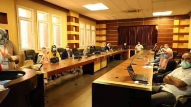 مباحثات المركز الوطني لمكافحة الأمراض حول وباء الدرن في ليبيا مع خبيرة الصحة العالمية الدكتورة باتريسيا