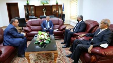 باشاغا يلتقى سفير جمهورية الجزائر لدى ليبيا